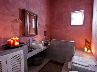 Villa Cybele in Skopelos Greece, bathroom 2, by Olive Villa Rentals