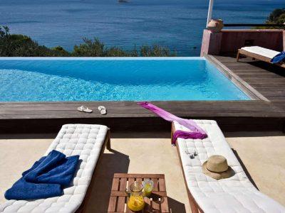 Villa Cybele in Skopelos Greece, pool 2, by Olive Villa Rentals