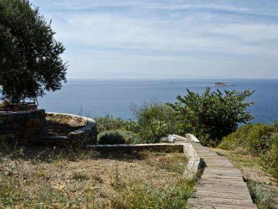 Villa Cybele in Skopelos Greece, sea view 2, by Olive Villa Rentals