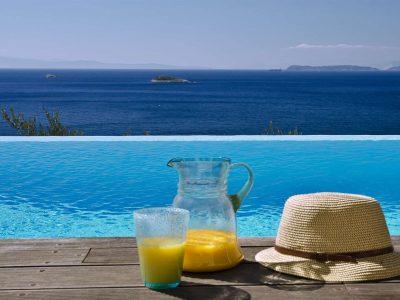 Villa Cybele in Skopelos Greece, pool 3, by Olive Villa Rentals