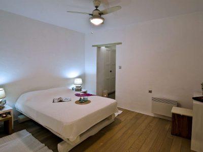 Villa Cybele in Skopelos Greece, bedroom, by Olive Villa Rentals