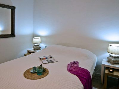 Villa Cybele in Skopelos Greece, bedroom 2, by Olive Villa Rentals