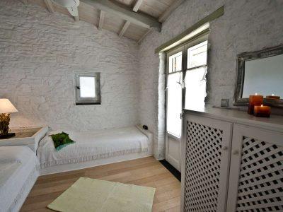 Villa Cybele in Skopelos Greece, bedroom 5, by Olive Villa Rentals