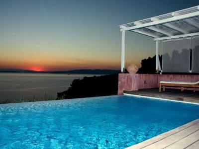 Villa Cybele in Skopelos Greece, pool 5, by Olive Villa Rentals