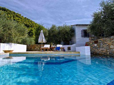 Pool Villa Selene in Skopelos Greece, pool 3, by Olive Villa Rentals