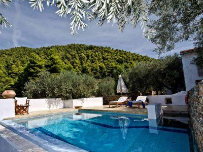 Pool Villa Selene in Skopelos Greece, pool 4, by Olive Villa Rentals