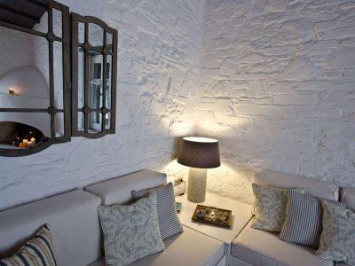 Pool Villa Selene in Skopelos Greece, living room 5, by Olive Villa Rentals