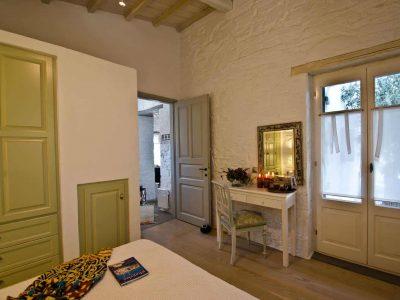 Pool Villa Selene in Skopelos Greece, bedroom 3, by Olive Villa Rentals