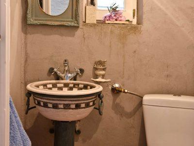 Pool Villa Selene in Skopelos Greece, bathroom 3, by Olive Villa Rentals
