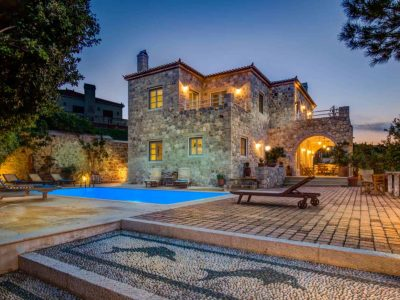 Villa Arte in Spetses Greece, house 3, by Olive Villa Rentals