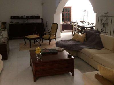 Villa Camelia in Spetses Greece, living room 2, by Olive Villa Rentals