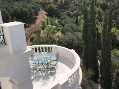Villa Camelia in Spetses Greece, view, by Olive Villa Rentals