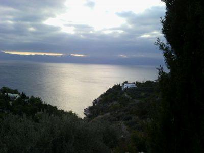 Villa Camelia in Spetses Greece, sea view, by Olive Villa Rentals