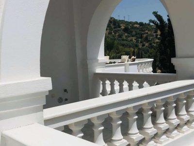 Villa Camelia in Spetses Greece, balcony 2, by Olive Villa Rentals