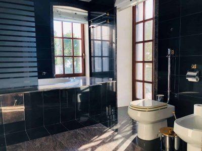 Villa Camelia in Spetses Greece, bathroom 4, by Olive Villa Rentals