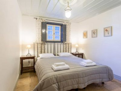 Villa Corinna in Spetses Greece, bedroom, by Olive Villa Rentals