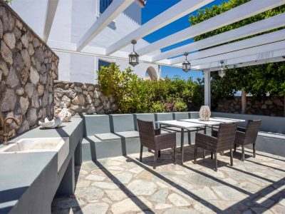 Villa Kastalia in Spetses Greece, outdoors, by Olive Villa Rentals