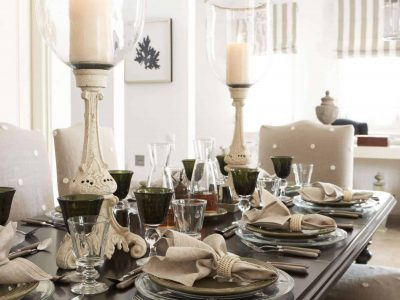 Villa Marina in Spetses Greece, dining room 2, by Olive Villa Rentals