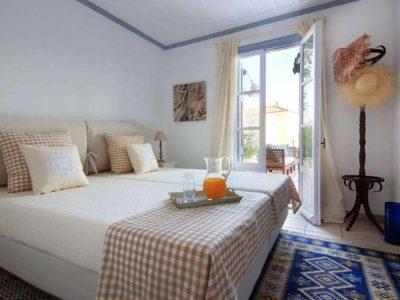 Villa Matilda in Spetses Greece, bedroom 2, by Olive Villa Rentals
