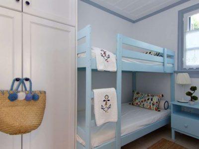 Villa Matilda in Spetses Greece, bedroom 3, by Olive Villa Rentals