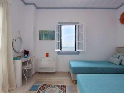 Villa Matilda in Spetses Greece, bedroom 4, by Olive Villa Rentals