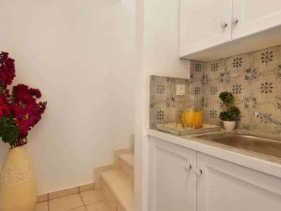 Villa Matilda in Spetses Greece, kitchen, by Olive Villa Rentals