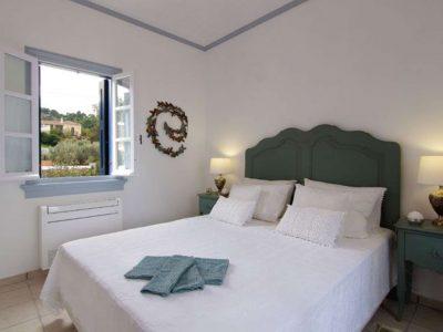 Villa Matilda in Spetses Greece, bedroom, by Olive Villa Rentals