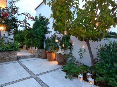 Villa Matilda in Spetses Greece, outside, by Olive Villa Rentals