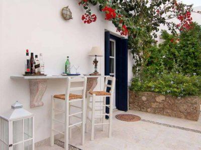Villa Matilda in Spetses Greece, table 2, by Olive Villa Rentals