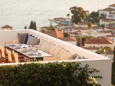 Villa Pegasus in Spetses Greece, sea view 2, by Olive Villa Rentals