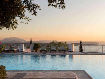 Villa Pegasus in Spetses Greece, pool 2, by Olive Villa Rentals
