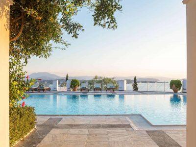 Villa Pegasus in Spetses Greece, pool 4, by Olive Villa Rentals