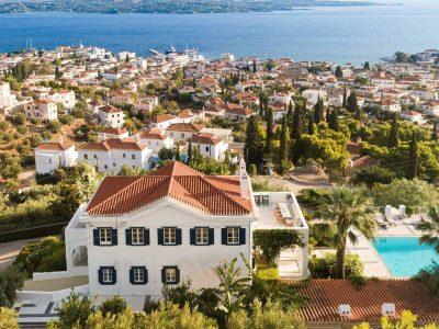 Villa Pegasus in Spetses Greece, house 2, by Olive Villa Rentals