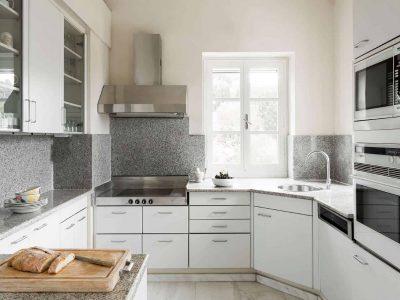 Villa Pegasus in Spetses Greece, kitchen, by Olive Villa Rentals