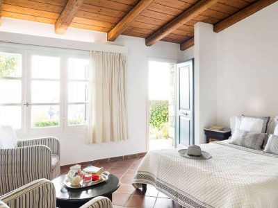 Villa Pegasus in Spetses Greece, bedroom, by Olive Villa Rentals
