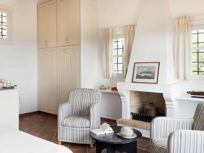 Villa Pegasus in Spetses Greece, living room 3, by Olive Villa Rentals