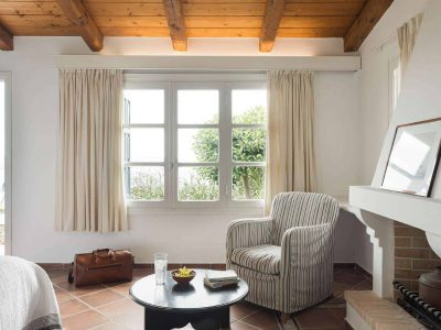 Villa Pegasus in Spetses Greece, living room 4, by Olive Villa Rentals