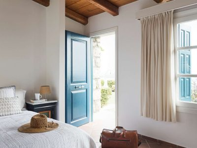 Villa Pegasus in Spetses Greece, entrance, by Olive Villa Rentals