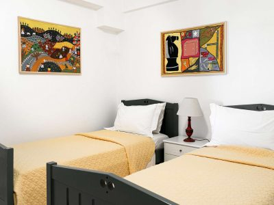 Villa Pegasus in Spetses Greece, bedroom 3, by Olive Villa Rentals