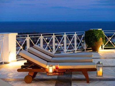 Villa Pegasus in Spetses Greece, sea view 3, by Olive Villa Rentals