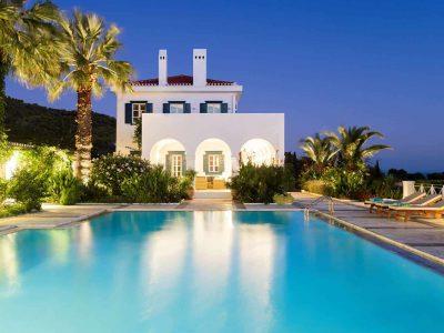 Villa Pegasus in Spetses Greece, house 7, by Olive Villa Rentals