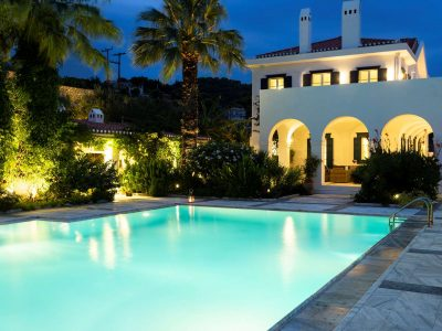 Villa Pegasus in Spetses Greece, house 8, by Olive Villa Rentals
