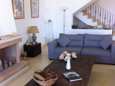 Villa Pitys in Spetses Greece, living room 2, by Olive Villa Rentals