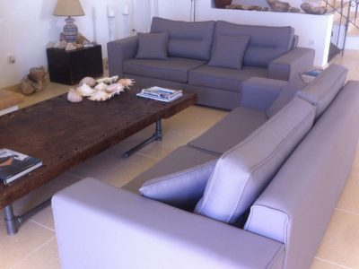 Villa Pitys in Spetses Greece, living room 3, by Olive Villa Rentals