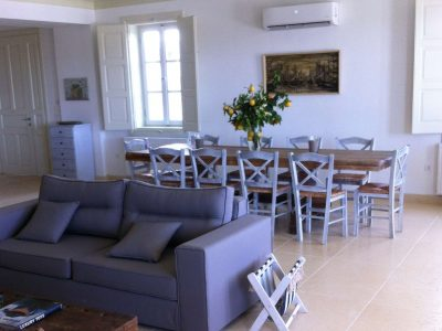 Villa Pitys in Spetses Greece, living room 4, by Olive Villa Rentals