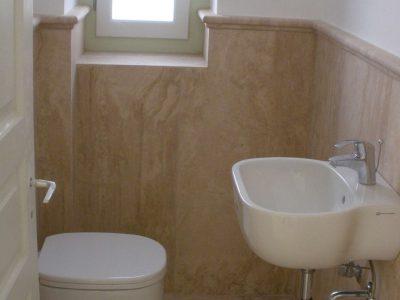 Villa Pitys in Spetses Greece, bathroom, by Olive Villa Rentals