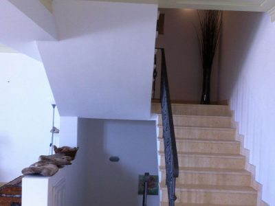 Villa Pitys in Spetses Greece, stairway, by Olive Villa Rentals