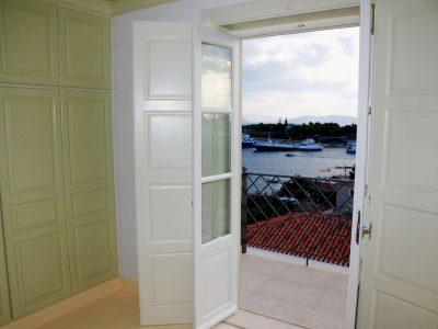 Villa Pitys in Spetses Greece, balcony 2, by Olive Villa Rentals