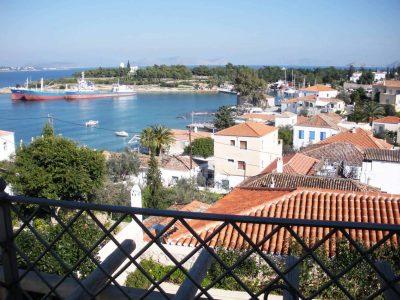 Villa Pitys in Spetses Greece, balcony 4, by Olive Villa Rentals