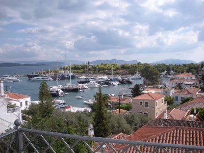 Villa Pitys in Spetses Greece, balcony 5, by Olive Villa Rentals